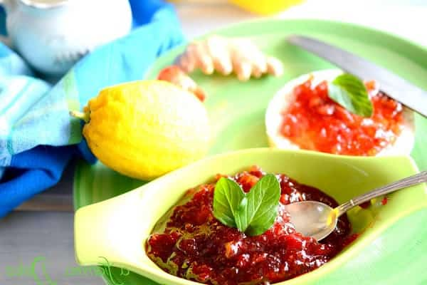 Рецепт варенья из клубники с лимоном