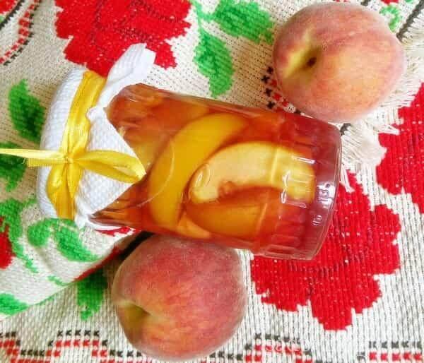 Персиковое варенье с целыми дольками на зиму