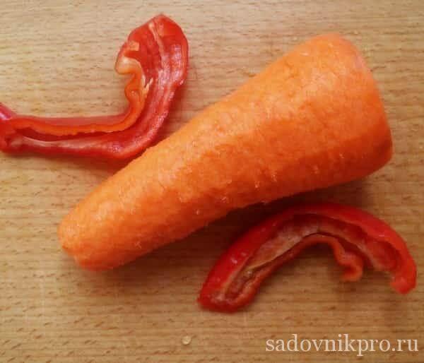 Аджика с морковью на зиму