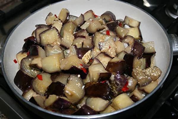 Маринованные баклажаны как грибы на зиму