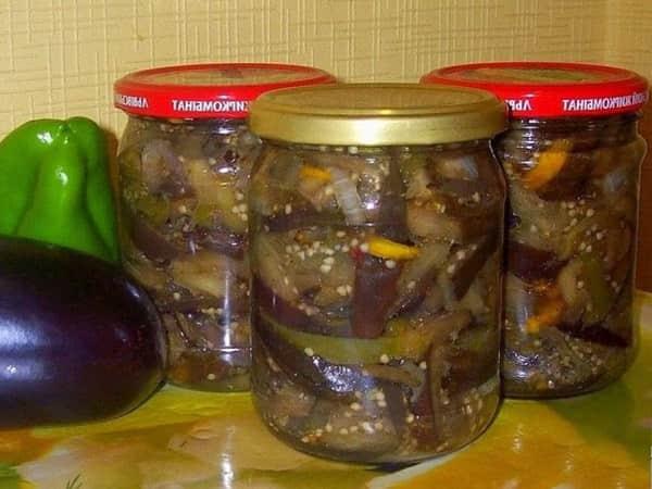 Закуски из баклажанов рецепты быстро и вкусно с фото на зиму
