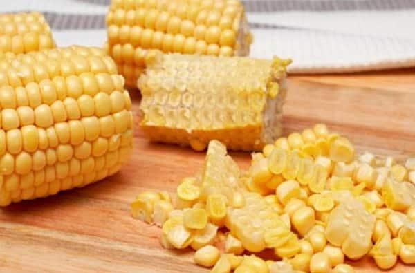 Заморозка кукурузы на зиму в зернах