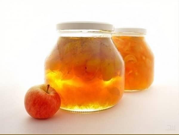 Варенье из яблок прозрачное дольками