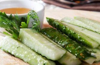 Малосольные огурцы: рецепт классический с чесноком и укропом