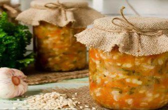 Рассольник на зиму из свежих огурцов с рисом: рецепт с фото