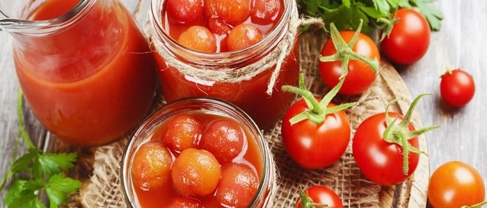Вкусные помидоры в собственном соку на зиму