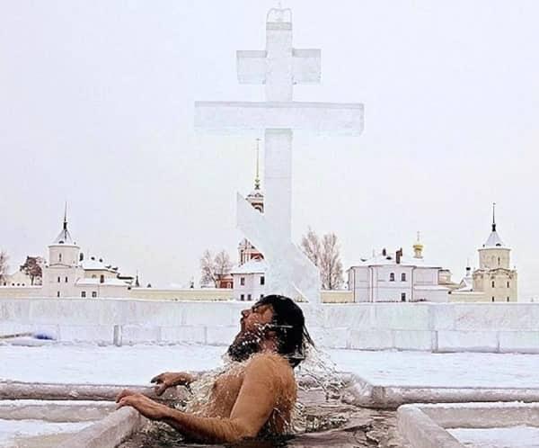 Купание на Крещение Господня