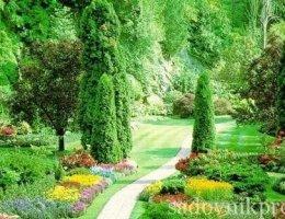 обустройство сада своими руками